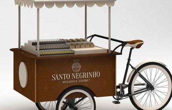 Clean & Trendy Branding Santo Negrinho