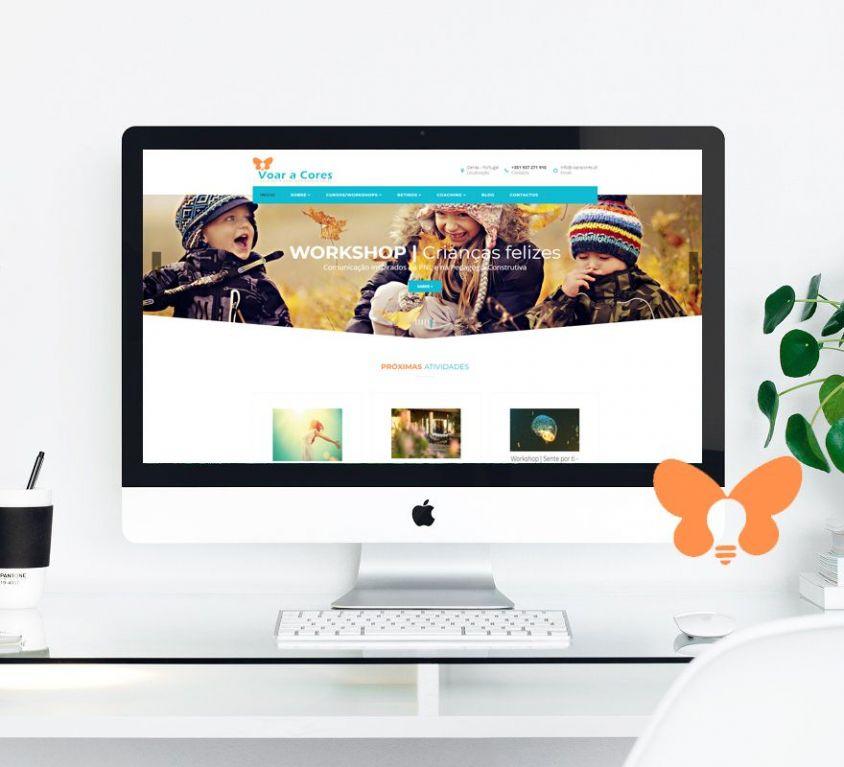 Web site Voar a Cores
