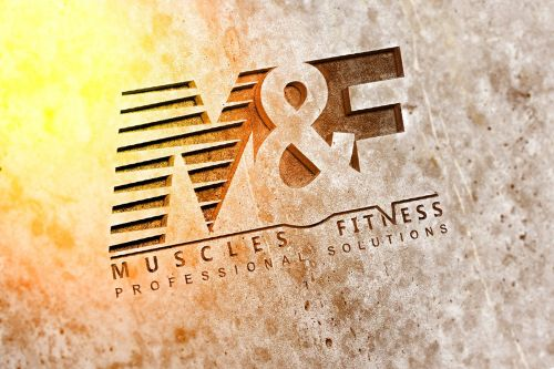 Logotipo Muscles & Fitness