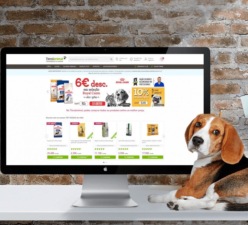 e-commerce PET