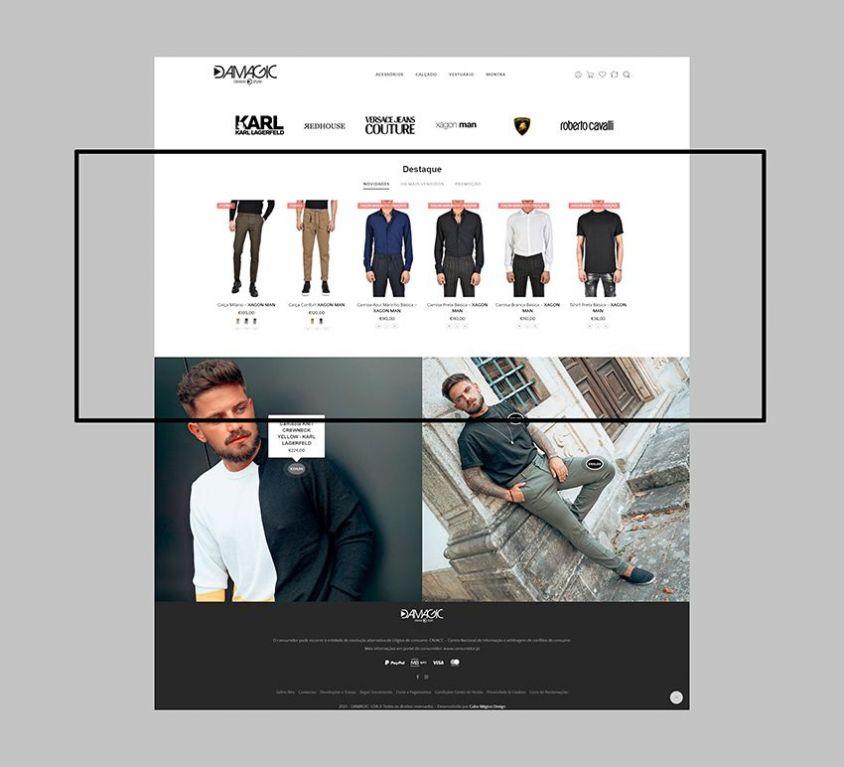 E-commerce DAMAGIC